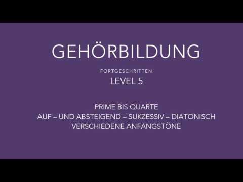 Intervalltraining - Ear Training - Gehörbildung to go