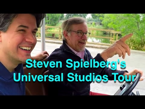 Steven Spielberg Gives A Tour Of Universal Studios - Behind The Scenes Of Movie Magic