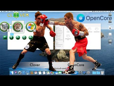 Какой загрузчик лучше для старых систем Mac OS X Hackintosh? Clover VS OpenCore