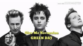 Lyrics Give Me Novacaine - Green Day (American Idiot) Lirik & Terjemahan