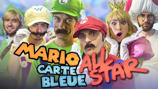 MARIO CARTE BLEUE ALL STAR (feat. Squeezie, Cyril, Natoo, Cyprien)