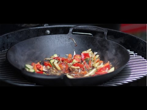 Asiatisches Wokgemüse vom Grill (Rostkost.de)
