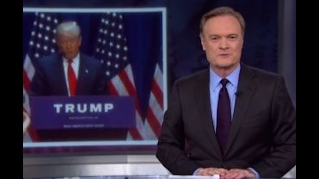 Lawrence O'Donnell Apologizes To Donald Trump thumbnail