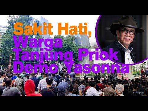 Sakit Hati, Warga Tanjung Priok Demo Yasonna Laoly