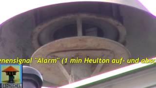 Awesome&scary AIR RAID SIREN SOUND - Tieffliegeralarm