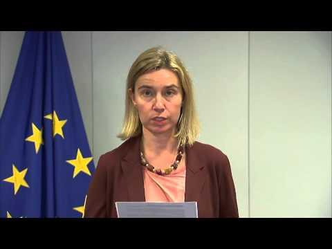Launch of the new EU-Armenia Agreement : Press statement EU HR Mogherini