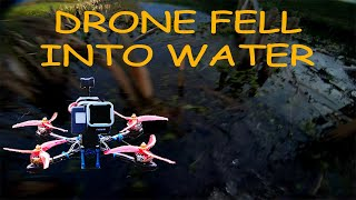 FPV drone crashed into water (Astro X5 Johnny FPV V2)