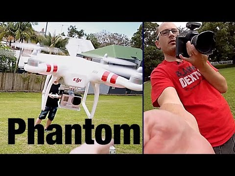 DJI Phantom Quadcopter - Setup & Review