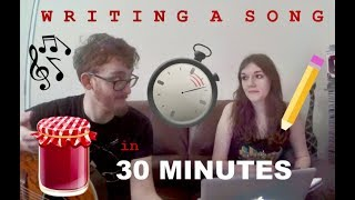Writing a Song in 30 Minutes. (Using a Random Generator)