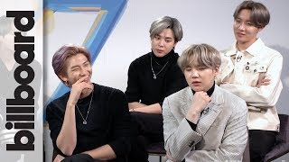"BTS discuss their favorite lyrics on their new album 'Map of the Soul: 7,' what they have learned about themselves over the last seven years, what their song ""ON"" means to them, why this album is a love song to their career, and what their favorite memories from creating the album are.  #BTS #MapOfTheSoul7 #Billboard  Subscribe for The Latest Hot 100 Charts & ALL Music News! ►► https://bitly.com/BillboardSub Billboard News: New Channel, Same Awesome ►► http://bit.ly/DailyMusicNews"