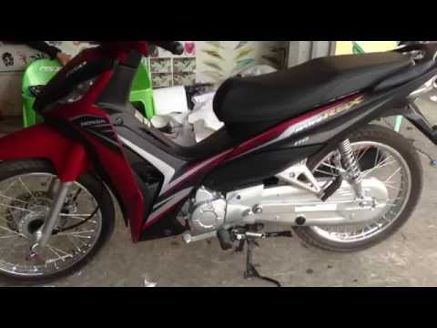 Honda Wave RSX 2015 New Black And Red 110 KS