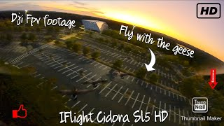 In the End FPV Freestyle after work Iflight Cidora SL5 HD