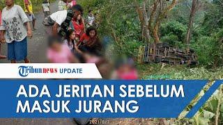 Jeritan Terakhir Penumpang saat Truk yang Angkut Rombongan Pengantar Maskawin Terjun ke Jurang