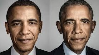 The 2 faces of Obama ,Americas worst President leaves office