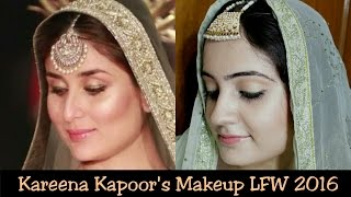 Image for video on Kareena Kapoor Inspired makeup look | Sabyasachi Grand finale | LFW 2016 | Swatzparadise by SwatzParadise