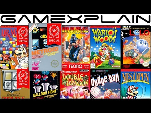 NES Online December Tour (Dr Mario & Metroid SP, Ninja Gaiden, Wario's Woods & Adventures of Lolo)