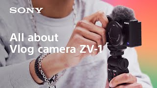 YouTube Video adUTt9fxlrI for Product Sony ZV-1 Vlog Compact Camera by Company Sony Electronics in Industry Cameras