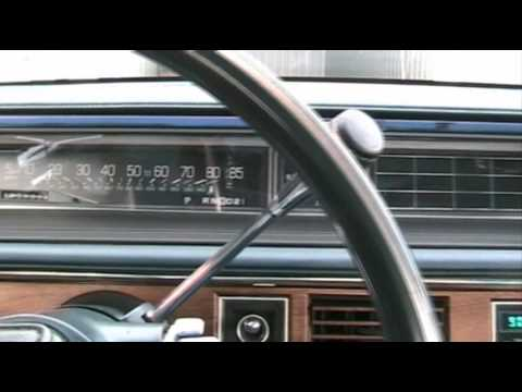 1985 Oldsmobile 98 cold start and drive