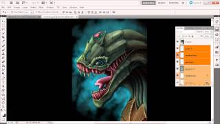 Getting Started with Digital Painting in Photoshop: Understanding Photoshop layer