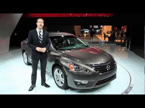 2013 Nissan Altima - 2012 New York Auto Show