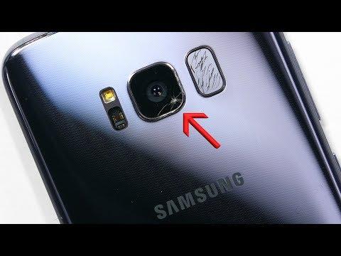 Samsung Galaxy S8 con vetro fotocamera posteriore rotta? Ecco come sostituirla