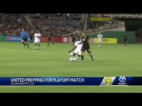 United prepping for playoff match