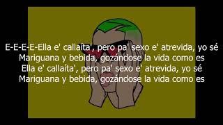 Callaíta - Bad Bunny  (LETRA)