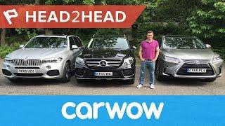 BMW X5 vs Mercedes GLE vs Lexus RX review | Head2Head | Kholo.pk