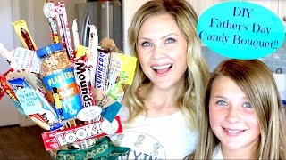 DIY Fathers Day Candy Bouquet!!