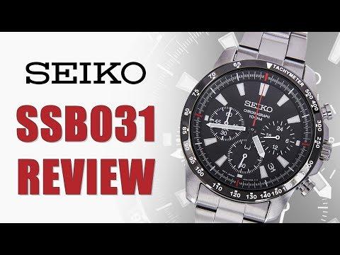 Seiko SSB031 Chronograph - Omega Speedmaster Alternative?