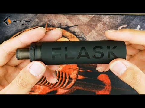 YouTube Video zu GeekVape Flask Liquid Dispenser Light 30 ml weiß