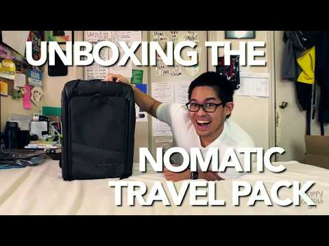 Unboxing the Nomatic Travel Pack Backpack! | A Travel Backpack 2017