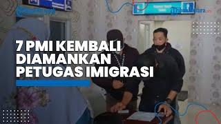 Lalui Jalur Ilegal, 7 Pekerja Migran Indonesia Diamankan Petugas Imigrasi Klas II TPI Nunukan