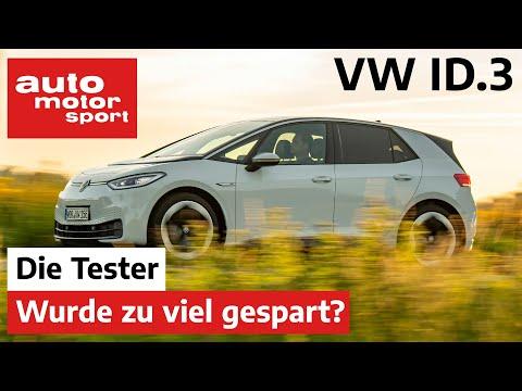 VW ID.3 Pro Performance: Hat Volkswagen zu viel gespart? - Test/Review | auto motor und sport