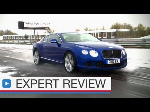 Bentley Continental GT Speed coupe expert car review
