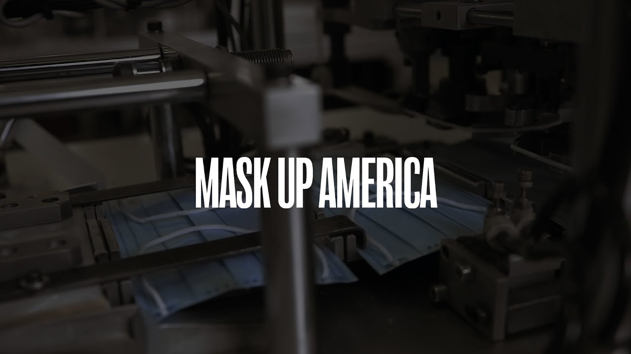 "Mask Up America | ""An Easy Lift"" 