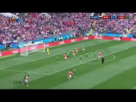 Xem lại trận đấu nga vs ả rập xê út bình luận tiếng việt ( world cup 2018 )