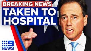 """Australia Minister zdrowia Greg Hunt  w szpitalu z """"infekcją"""" 2 dni po szczepieniu AstraZeneca panie Niedzielski kiedy pana kolej?"""