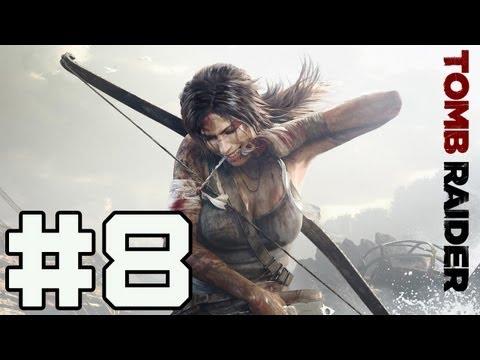 Играем в Tomb Raider - Серия 8 (Старик Грим)