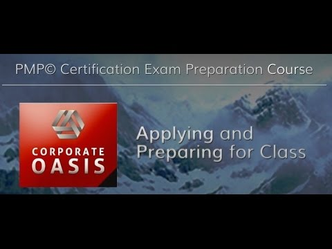 Corporate Oasis: PMP Certification Training - Registering and ...