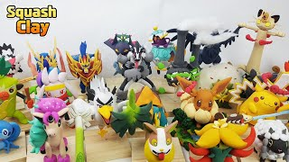 Pokémon Sword & Shield Clay Art Collection and Surprising Giveaway Event