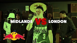 Midlands vs London | Red Bull Mind The Gap Cypher