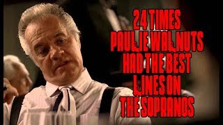 "24 Times Paulie Walnuts Had The Best Lines On ""The Sopranos"""
