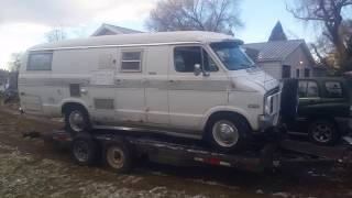 1976 DODGE B300 XPLORER MINI RV MOTORHOME
