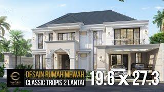 Video Desain Rumah Classic 2 Lantai Bapak Hartowo di  Balikpapan, Kalimantan Timur