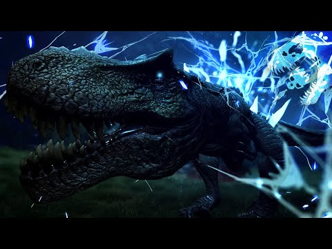 NEUROTONIC CONNECTION TO SPECIMEN 982735 CONFIRMED. TYPE-H REX REPLICATION ACTIVE -The Isle Gameplay