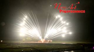 preview picture of video '2015 New-Art Pyrotechnics CakeDemo(128)-30mm 120s wring of fire'