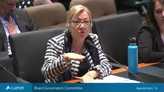 Board Governance Committee | March 19, 2019