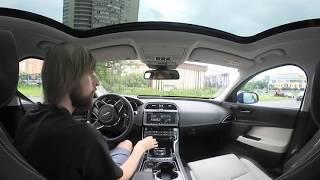 Борода в Магадан: обзор салона Jaguar XE 360 градусов в движении