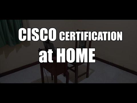 ujian sertifikasi CISCO (pearsonvue) dari RUMAH | Cisco ... - YouTube